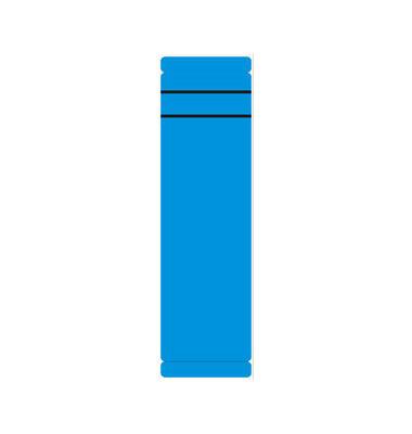 Rückenschilder 62 x 192 mm blau 10 Stück zum aufkleben