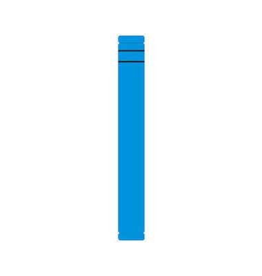 Rückenschilder 39 x 289 mm blau 10 Stück zum aufkleben