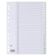 Register 1-31 A4 0,12mm weiße Taben 31-teilig