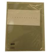 Kunststoffregister 1435340 blanko A4 0,12mm graue Fenstertaben zum wechseln 5-teilig