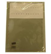 Register blanko A4 0,12mm graue Taben 10-teilig Fenstertabe