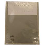 Kunststoffregister 1437645 blanko A4 0,12mm graue Fenstertaben zum wechseln 12-teilig