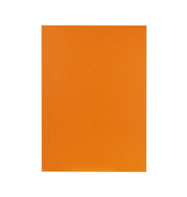 Aktendeckel RC-Karton 250g orange 32,4x23cm gef.a.A4 ohne Verschluss