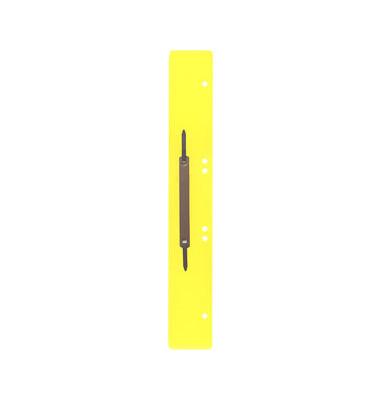Heftstreifen lang PP gelb 45x310mm 100 Stück