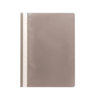 Schnellhefter 1620 A4 grau PP Kunststoff kaufmännische Heftung
