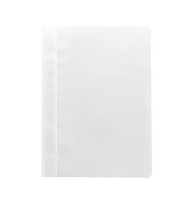 Schnellhefter 1620 A4 weiß PP Kunststoff kaufmännische Heftung