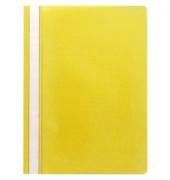 Schnellhefter A4 PP-Folie gelb transparenter Vorderdeckel kaufmännische Heftung