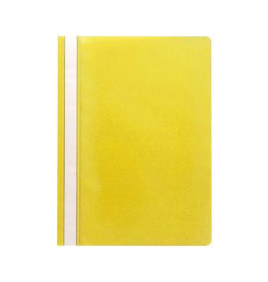 Schnellhefter 1620 A4 gelb PP Kunststoff kaufmännische Heftung
