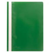 Schnellhefter A4 PP-Folie grün transparenter Vorderdeckel kaufmännische Heftung