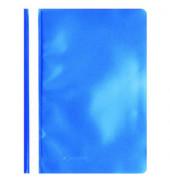 Schnellhefter A4 PP-Folie blau transparenter Vorderdeckel kaufmännische Heftung