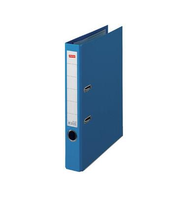 Premium 1661998 blau Ordner A4 50mm schmal