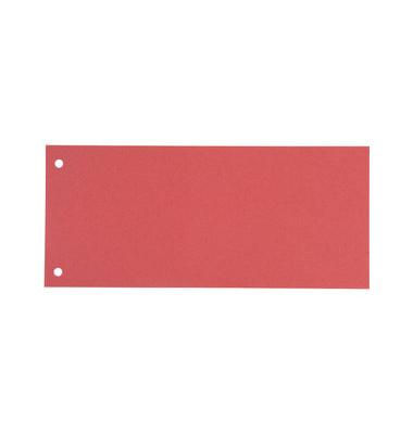 Trennstreifen rosa, hellrosa 190g gelocht 240x105mm 100 Blatt