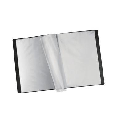 Sichtbuch 1812062 schwarz A4 PP mit 12 Hüllen