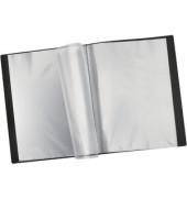 Sichtbuch A4 mit 24 Hüllen schwarz