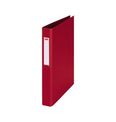 Ringbuch 1844754 A4 rot 4-Ring Ø 25mm