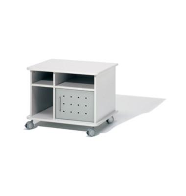 Druckerwagen CE-Fun lichtgrau 75x60x60cm bis 100 kg belastbar