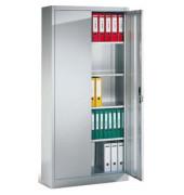 Aktenschrank ClassicLine Serie 900 9480-000-7035/5010, Stahl abschließbar, 5 OH, 120 x 195 x 50 cm, blau/lichtgrau