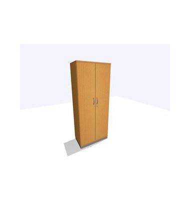 ClassicLine Aktenschrank buche 80 x 45 x 198 cm 4 Böden