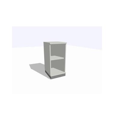 ClassicLine Regalschrank grau 40 x 45 x 82 cm 1 Boden