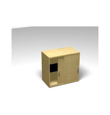 Schiebetürschrank 2OH Aufsatz Ahorn D. 120x45x77 R/T/S/M