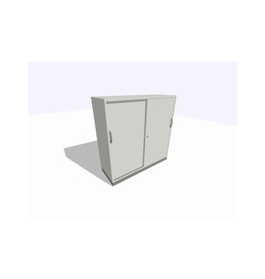 Schiebetürschrank 3OH li.grau 120x45x120 R/T/S/M