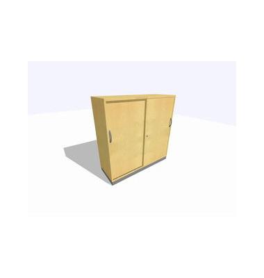 Schiebetürschrank 3OH Ahorn D. 120x45x120 R/T/S/M