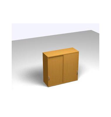 Schiebetürschrank 3OH Aufsatz Buche D. 120x45x115 R/T/S/M