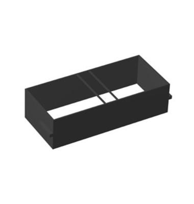 Hängeregistratur f. B 80 cm schwarz 80cm R/T/S/M