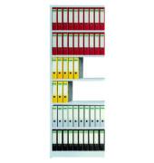 Regalfeld Office ohne Rückwand 75 x 30 x 225 cm lichtgrau