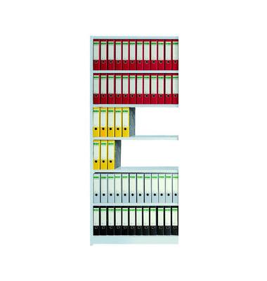 Regalfeld Office ohne Rückwand 96 x 30 x 225 cm lichtgrau