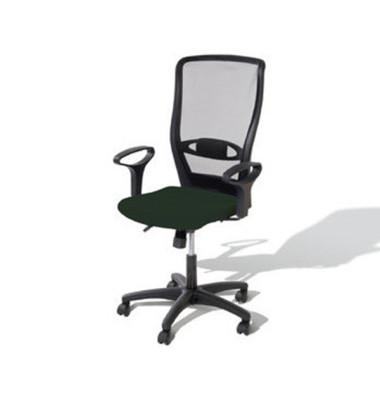 Bürodrehstuhl Younico 4 Tec ohne Armlehnen schwarz