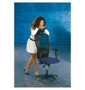 Bürodrehstuhl Younico 5 Tec ohne Armlehnen blau (Montage)