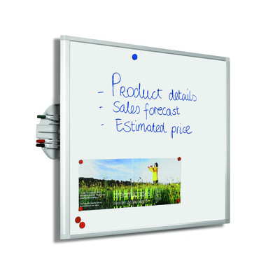 Whiteboard Dynamic 90 x 60cm weiß