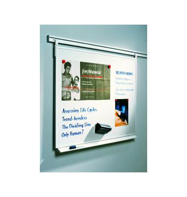 Whiteboard Legaline Professional 120 x 90cm emailliert Aluminiumrahmen