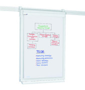 Wandflipchart Professional Legaline 75 x 108cm weiß