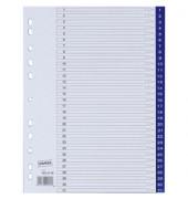 Kunststoffregister 3028758 1-31 A4 0,12mm blaue Taben 31-teilig