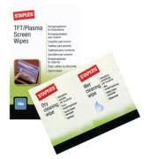 Reinigungstücher feucht für TFT-/Plasma-/Notebook-Bildschirm 10 Doppelbeutel
