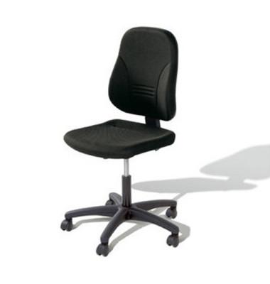 Bürodrehstuhl Younico 2 Tec ohne Armlehnen schwarz