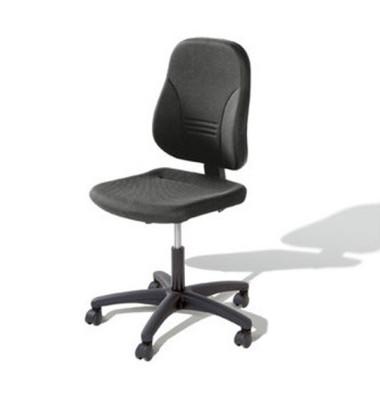 Bürodrehstuhl Younico 2 Tec ohne Armlehnen grau