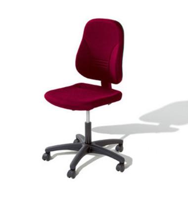 Bürodrehstuhl Younico 2 Tec ohne Armlehnen rot