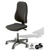 Bürodrehstuhl Younico 3 Tec ohne Armlehnen schwarz (Montage)