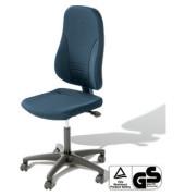 Bürodrehstuhl Younico 3 Tec ohne Armlehnen blau (Montage)