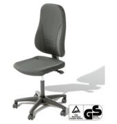 Bürodrehstuhl Younico 3 Tec ohne Armlehnen grau (Montage)