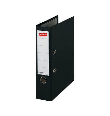 Premium Ordner A4 schwarz 80mm breit