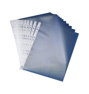 Prospekthüllen Super A4 glasklar glatt 100my oben offen 100 Stück