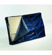 Tragetasche dunkelblau für Moderationswände 134x80x12cm