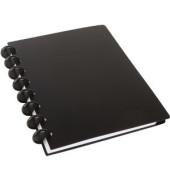 Notizbuch 5076223 ARC System, Kunststoff, liniert, A5, Einbandfarbe: schwarz, 60 Blatt