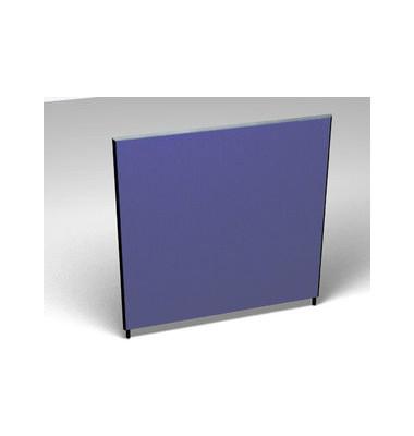 Großraumbüroteiler Accoust.Formfac4 blau H:160 B:140