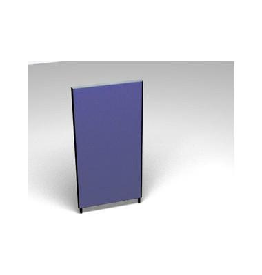 Großraumbüroteiler Accoust.Formfac4 blau H:160 B:80