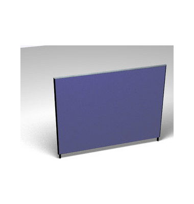 Großraumbüroteiler Accoust.Formfac4 blau H:140 B:180
